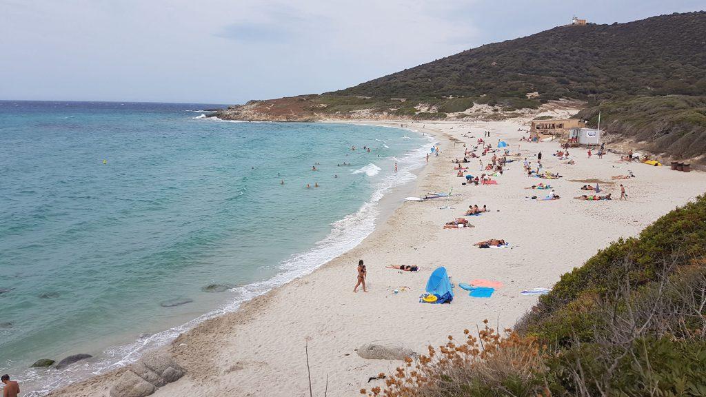 La spiaggia di Bodri