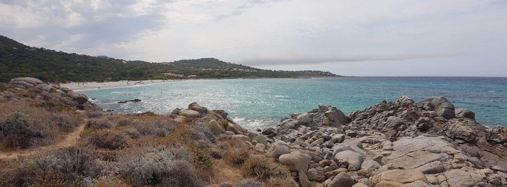 la spiaggia di Giunchittu (o Ghjunchitu)